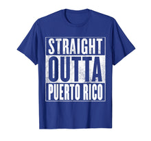 Load image into Gallery viewer, Funny shirts V-neck Tank top Hoodie sweatshirt usa uk au ca gifts for Puerto Rico T-Shirt - STRAIGHT OUTTA PUERTO RICO Shirt 1449973