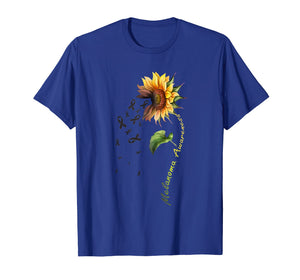 Funny shirts V-neck Tank top Hoodie sweatshirt usa uk au ca gifts for Melanoma Awareness Sunflower Shirt 1147986