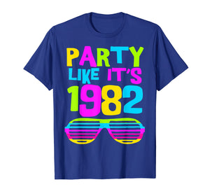 Funny shirts V-neck Tank top Hoodie sweatshirt usa uk au ca gifts for Party Like Its 1982 | 80s Costume Party Wear Outfit Tee 2422823