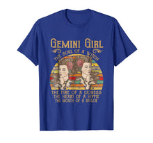 Load image into Gallery viewer, Funny shirts V-neck Tank top Hoodie sweatshirt usa uk au ca gifts for Vintage Gemini Woman The Soul Of A Witch T-shirt 202522