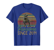 Load image into Gallery viewer, Funny shirts V-neck Tank top Hoodie sweatshirt usa uk au ca gifts for 5th Birthday Gift Shirt Dinosaur 5 Year Old Tshirt 2034735