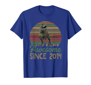 Funny shirts V-neck Tank top Hoodie sweatshirt usa uk au ca gifts for 5th Birthday Gift Shirt Dinosaur 5 Year Old Tshirt 2034735