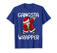 Load image into Gallery viewer, Funny shirts V-neck Tank top Hoodie sweatshirt usa uk au ca gifts for Gangsta Wrapper Funny Dabbing Santa Christmas Gift Men Kids T-Shirt 107471