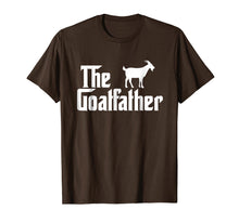 Load image into Gallery viewer, Funny shirts V-neck Tank top Hoodie sweatshirt usa uk au ca gifts for The Goat Father Funny Goat Lover T Shirt Gift 1559666