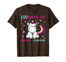 Load image into Gallery viewer, Funny shirts V-neck Tank top Hoodie sweatshirt usa uk au ca gifts for Adorable 100th Day of School Unicorn T-Shirt 2038567