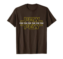 Load image into Gallery viewer, Pew Pew Wars | Funny Space Star Noises Science for Geek Gift T-Shirt-429041