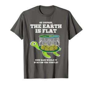 Funny shirts V-neck Tank top Hoodie sweatshirt usa uk au ca gifts for The Earth Is Flat T-Shirt Flat World Conspiracy Theory Tee 1321441