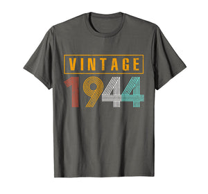Funny shirts V-neck Tank top Hoodie sweatshirt usa uk au ca gifts for 75 Years Old 1944 Vintage 75th Birthday T Shirt Decorations 2634997