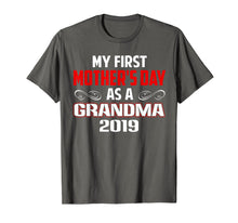 Load image into Gallery viewer, Funny shirts V-neck Tank top Hoodie sweatshirt usa uk au ca gifts for My First Mother's Day As A Grandma Gift T-shirt New Grandma 1286853