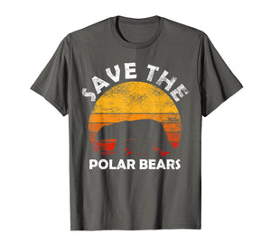 Funny shirts V-neck Tank top Hoodie sweatshirt usa uk au ca gifts for Save The Polar Bear T-Shirt Animal Rescue Climate Activist 1122970