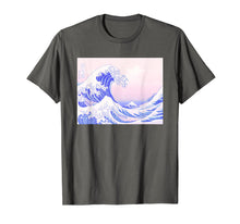 Load image into Gallery viewer, Funny shirts V-neck Tank top Hoodie sweatshirt usa uk au ca gifts for Pastel Aesthetic Japanese Great Wave Soft Grunge Pink T-Shirt 1556864