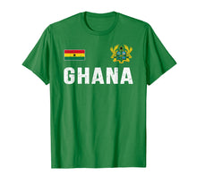 Load image into Gallery viewer, Funny shirts V-neck Tank top Hoodie sweatshirt usa uk au ca gifts for Ghana T-shirt Ghanaian Flag Souvenir Gift 2473181
