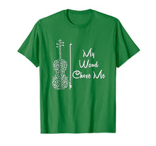 Load image into Gallery viewer, Funny shirts V-neck Tank top Hoodie sweatshirt usa uk au ca gifts for My Wand Chose Me Tshirt Cute Violin Violinist Gifts Girls 698473