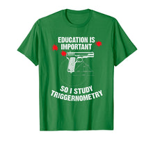 Load image into Gallery viewer, Funny shirts V-neck Tank top Hoodie sweatshirt usa uk au ca gifts for Gun Education - 2nd Amendment - I Study Triggernometry Guns T-Shirt 2482502