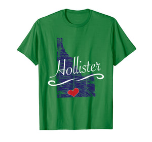 Funny shirts V-neck Tank top Hoodie sweatshirt usa uk au ca gifts for Hollister Idaho TShirt | Cute Adult Youth Tee - City State 225386