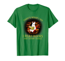 Load image into Gallery viewer, Funny shirts V-neck Tank top Hoodie sweatshirt usa uk au ca gifts for RABBIT- That's what i do I READ BOOKS AND I KNOW THINGS 1439486