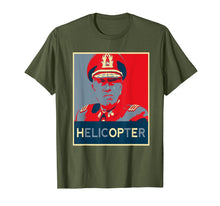 Load image into Gallery viewer, Funny shirts V-neck Tank top Hoodie sweatshirt usa uk au ca gifts for General Augusto Pinochet Helicopter Novelty Gift T-shirt 1194416