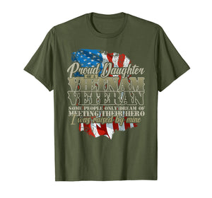 Funny shirts V-neck Tank top Hoodie sweatshirt usa uk au ca gifts for Proud Daughter Vietnam Veteran Raised by my Hero T-shirt 2024521