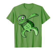 Load image into Gallery viewer, Funny shirts V-neck Tank top Hoodie sweatshirt usa uk au ca gifts for sea turtle gifts - Dabbing sea turtle T-Shirt 1228842