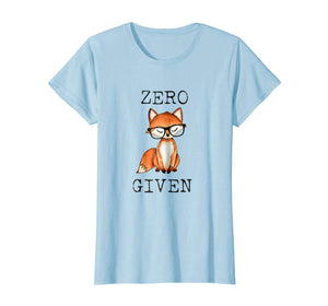 Funny shirts V-neck Tank top Hoodie sweatshirt usa uk au ca gifts for Zero Fox Given Funny Fox Shirt With Hipster Nerd Glasses 1285210