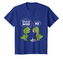 Load image into Gallery viewer, Funny shirts V-neck Tank top Hoodie sweatshirt usa uk au ca gifts for Dude Did You Eat The Last Unicorn T-Shirt Funny T-Rex Shirts 1217542