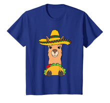 Load image into Gallery viewer, Funny shirts V-neck Tank top Hoodie sweatshirt usa uk au ca gifts for Llama Eating Taco Shirt | Cool Mexican Alpaca Funny Gift 1999717