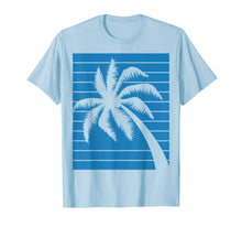 Load image into Gallery viewer, Funny shirts V-neck Tank top Hoodie sweatshirt usa uk au ca gifts for Blue Tropical Palm Tree T-Shirt 1615847