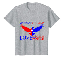 Load image into Gallery viewer, Funny shirts V-neck Tank top Hoodie sweatshirt usa uk au ca gifts for Marianne Williamson - Love as a Political Force T-shirt 1931341