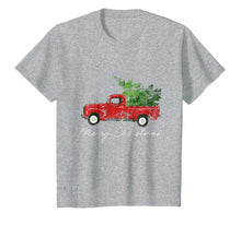 Load image into Gallery viewer, Funny shirts V-neck Tank top Hoodie sweatshirt usa uk au ca gifts for Vintage Christmas Classic Truck T-Shirt with Snow and Tree 1298378