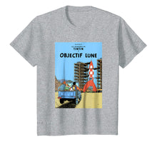 Load image into Gallery viewer, Funny shirts V-neck Tank top Hoodie sweatshirt usa uk au ca gifts for Tintin T Shirt Lune Poster 1101197