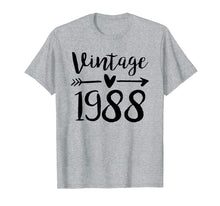 Load image into Gallery viewer, Funny shirts V-neck Tank top Hoodie sweatshirt usa uk au ca gifts for Vintage 1988 Cute Birthday Women Gift 31th Birthday Shirt 1471765