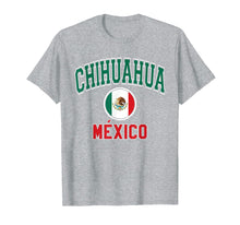 Load image into Gallery viewer, Funny shirts V-neck Tank top Hoodie sweatshirt usa uk au ca gifts for Chihuahua T Shirt - Varsity Style Mexico Flag 2254575