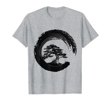 Load image into Gallery viewer, Funny shirts V-neck Tank top Hoodie sweatshirt usa uk au ca gifts for Yin Yang Bonsai Tree Japanese Buddhist Zen T-Shirt 1012640