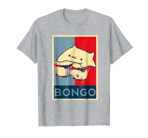 Funny shirts V-neck Tank top Hoodie sweatshirt usa uk au ca gifts for Bongo Cat For President Hope Poster 2251146