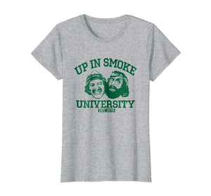 Funny shirts V-neck Tank top Hoodie sweatshirt usa uk au ca gifts for Up In Smoke University T-shirt 3141323