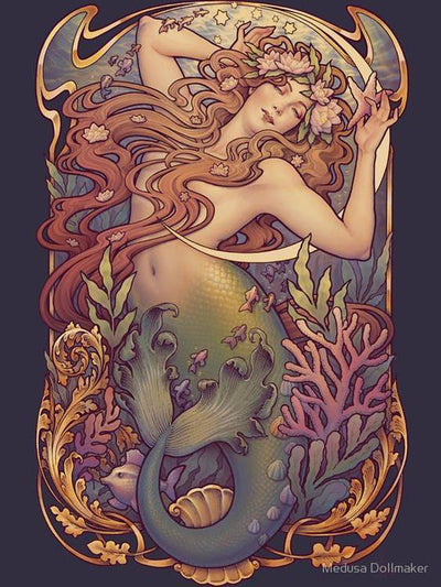 The Little Mermaid from Medusa Dollmaker