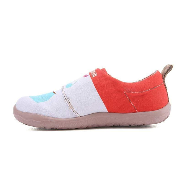 UIN Footwear Kid Clean Beach Canvas loafers