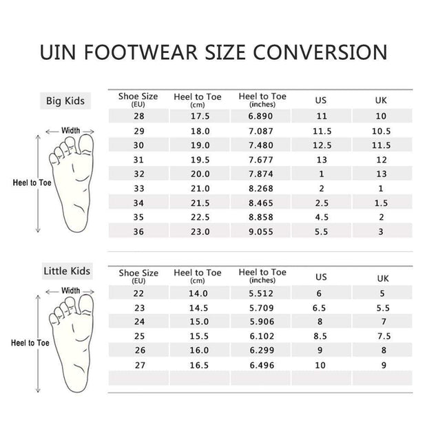UIN Footwear Kid Fantasy Big Kid Shoes Canvas loafers