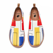 UIN Footwear Men Color Cubes Men Canvas loafers