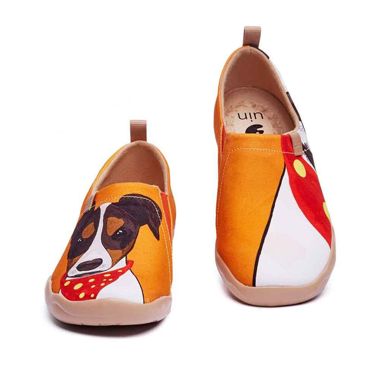UIN Footwear Men Jack Russell Terrier Men Canvas loafers