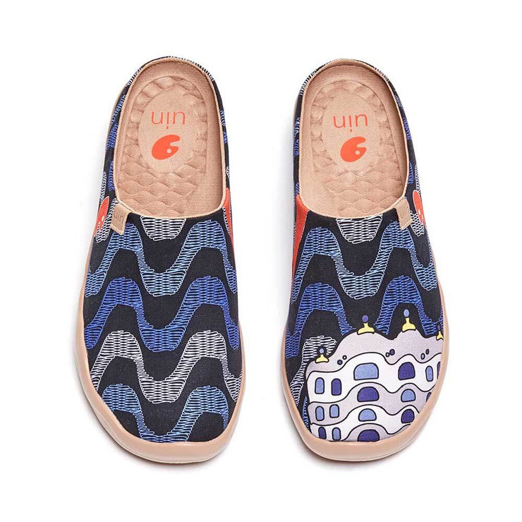 UIN Footwear Men La Pedrera Slipper Canvas loafers