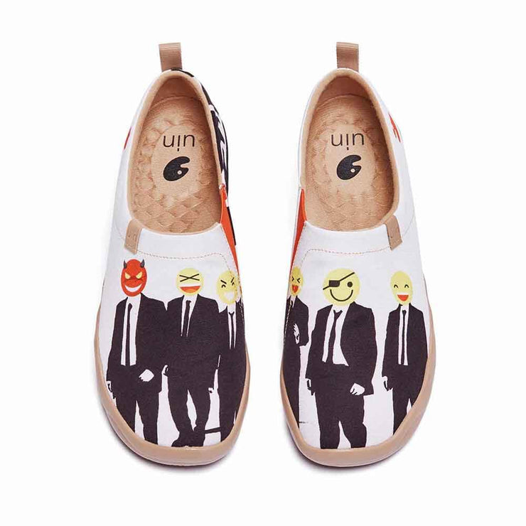 UIN Footwear Men We are Elites Canvas loafers