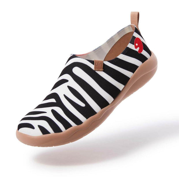 UIN Footwear Men Zebra Men Canvas loafers