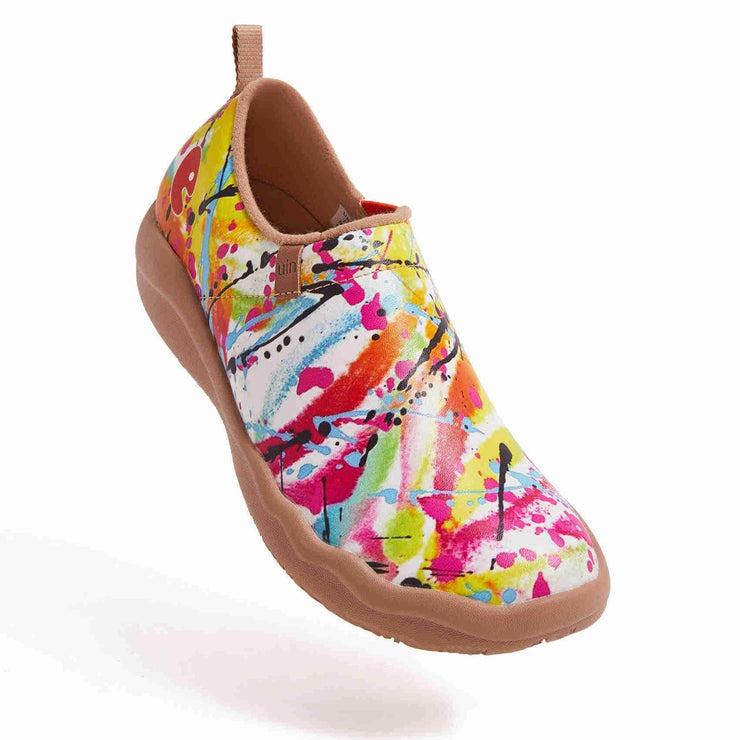 UIN Footwear Women Dazzled Now Canvas loafers