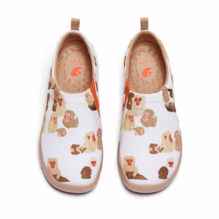 UIN Footwear Women Hot Spring Canvas loafers