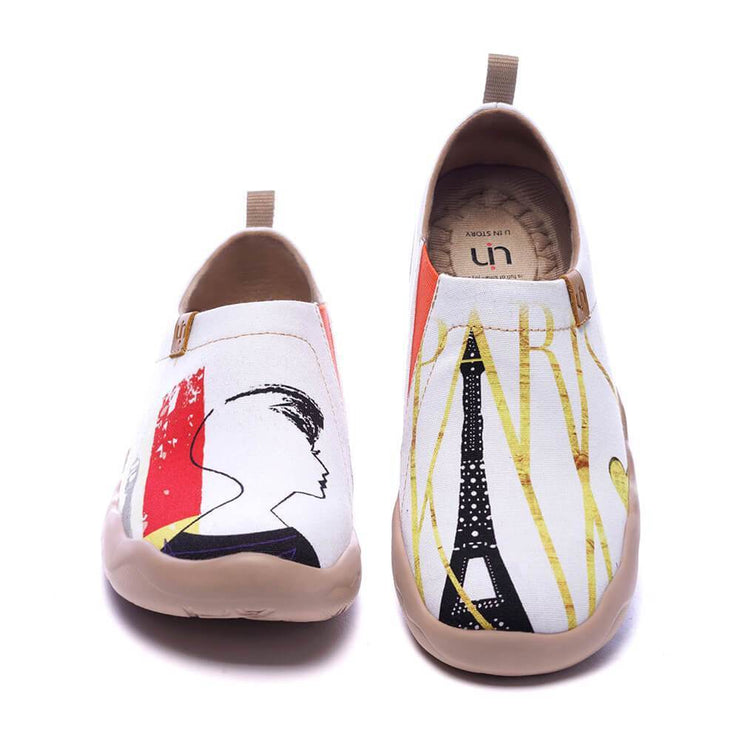 UIN Footwear Women Mademoiselle Canvas loafers