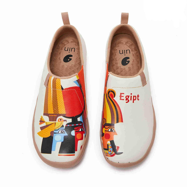 UIN Footwear Women (Pre-sale) The Pharaoh¡¯s Family Canvas loafers
