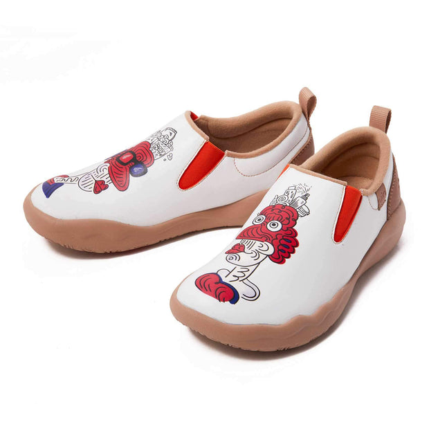 UIN Footwear Women (Pre-sale) This is Our Difference Women Canvas loafers