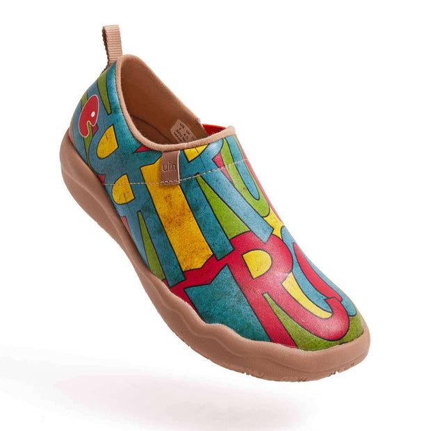 UIN Footwear Women Rock Now Canvas loafers