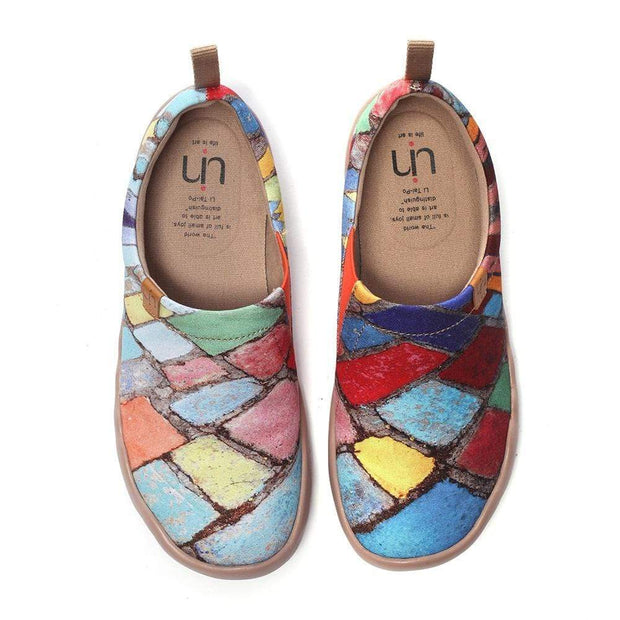 UIN Footwear Women Time Legacy Painted Canvas Shoes Canvas loafers